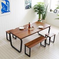 4인용식탁 6인용식탁 식탁 철제식탁 식탁세트 스틸