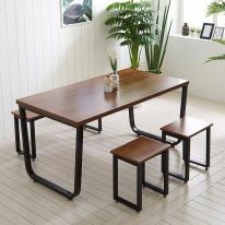 철재 철제 식탁 DIY 1500X800 프레임 스틸 테이블