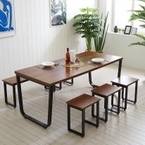 스틸 테이블 식탁 DIY 프레임 철제 1800X800 철재