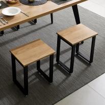 1인의자 식탁 테이블 철제 다리 DIY 조립 프레임