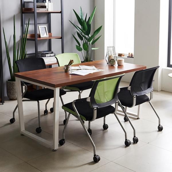 미팅테이블 사무용 철제테이블 1200 테이블 회의실
