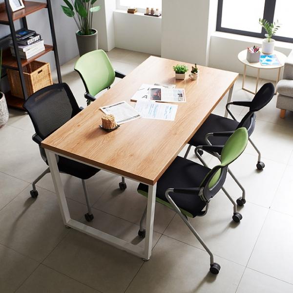 철제테이블 1500 테이블 4인 테이블 사무용 회의실