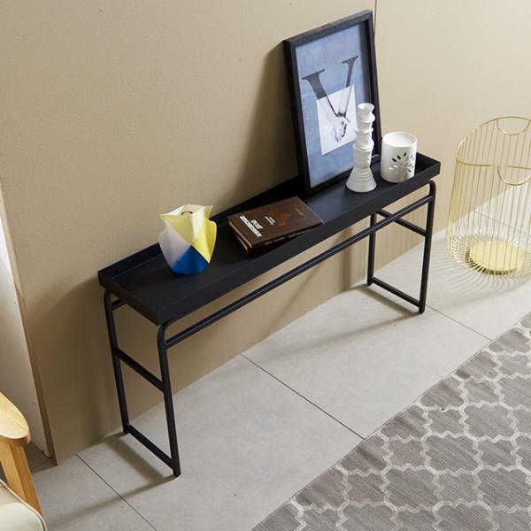 콘솔 슬림 테이블 중형 플라워 수납 콘솔화장대 거실