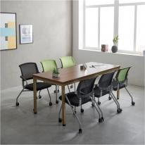 6인 사무실 회의용 몬드 1800 테이블 철제책상 국내산