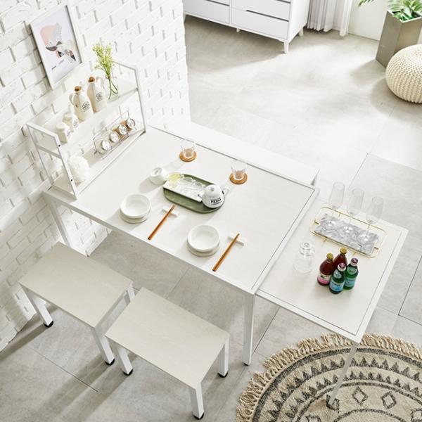 4인용식탁 확장형식탁 식탁세트 수납식탁 접이식식탁