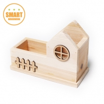 [스마트 목공교육]우든하우스 수납꽂이 DIY+오너먼트(개당6,960원)-5개세트