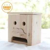 [스마트 목공교육]콧수염 원목 커피박스 DIY+경첩2개+오너먼트 (개당8,160원)-5개세트