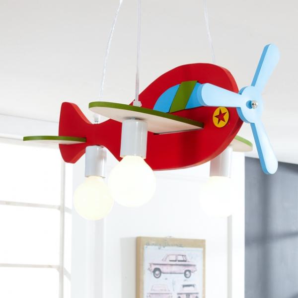 파스텔 비행기 3등 키즈조명
