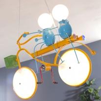 LED 프렌즈 자전거 키즈조명
