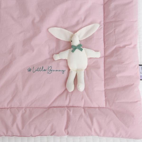 알러지케어 토끼인형 사계절 낮잠이불세트-2컬러