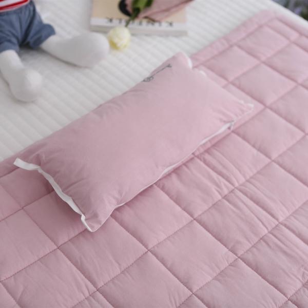알러지케어 토끼인형 사계절 낮잠이불세트-핑크