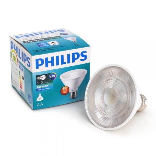 필립스 에센셜 LED PAR30s 12W (빔각도25도)