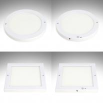 국산 LED직부등/센서등 (무타공) 8인치 20W