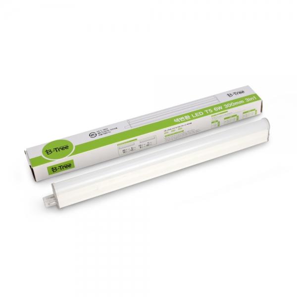 B-Tree LED T5 6W 10W 15W 20W (3단계 색변환) 3in1 간접등/형광등
