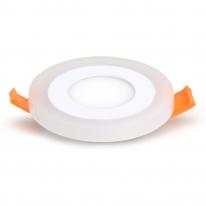 파룩스 LED투톤 원형 매입등 3인치 6W 주광색+전구색