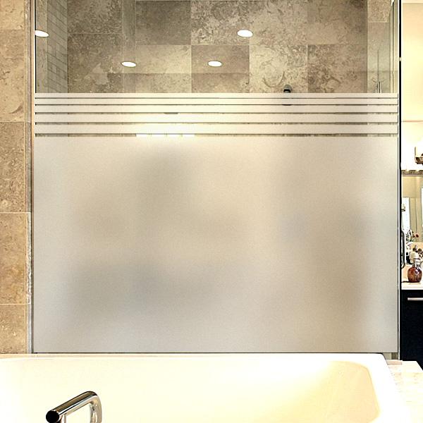 창문 유리창 컷팅안개시트지 제니퍼심플라인01