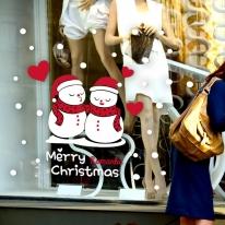 제제데코 크리스마스 눈꽃 스티커 장식 CMS4J080