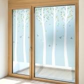 제제데코 창문시트지 유리창시트지 칼라 안개시트지 플로렌스자작나무01