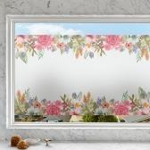 제제데코 창문시트지 유리창시트지 칼라 안개시트지 보브플라워01
