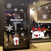 크리스마스 시트지 눈꽃 스티커 19CMJS5254