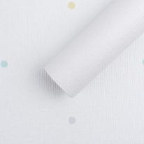 J6862-1 도트팝 화이트  [풀바른합지벽지]
