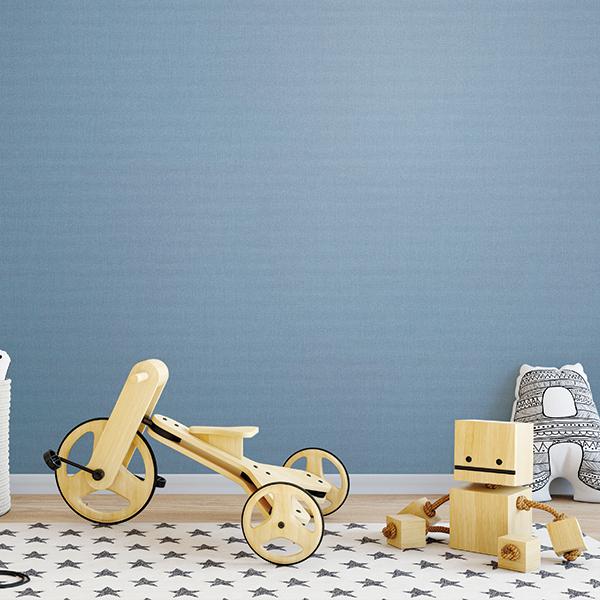 만능 풀바른벽지 합지 LG49497-11 피그먼트 블루
