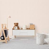 [월플랜]풀바른벽지 와이드합지 LG54008-2 솜사탕 핑크