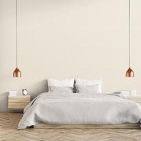 [월플랜]풀바른벽지 와이드합지 LG54007-3 도톰패브릭 크림