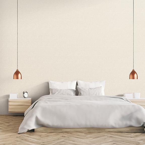 [월플랜]만능풀바른벽지 와이드합지 LG54007-3 도톰패브릭 크림