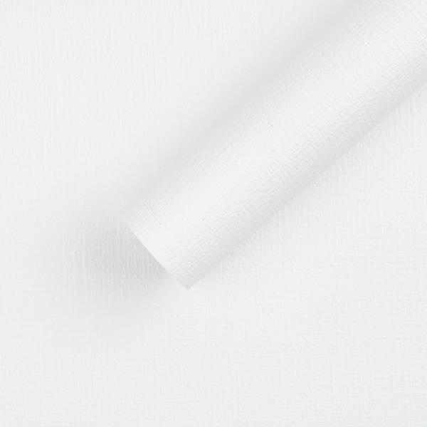 [월플랜]만능풀바른벽지 와이드합지 LG54007-1 도톰패브릭 화이트