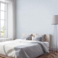 [월플랜]만능풀바른벽지 와이드합지 LG54020-9 모던페인팅 스카이블루
