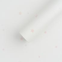 [월플랜]만능풀바른벽지 합지 SH6774-1 별바다 핑크