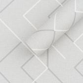 [월플랜]만능풀바른 실크벽지 HD5043-2 지오 그레이