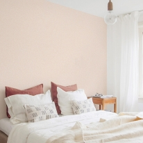 풀바른 실크벽지 SH15075-4 살구빛하늘 피치 핑크