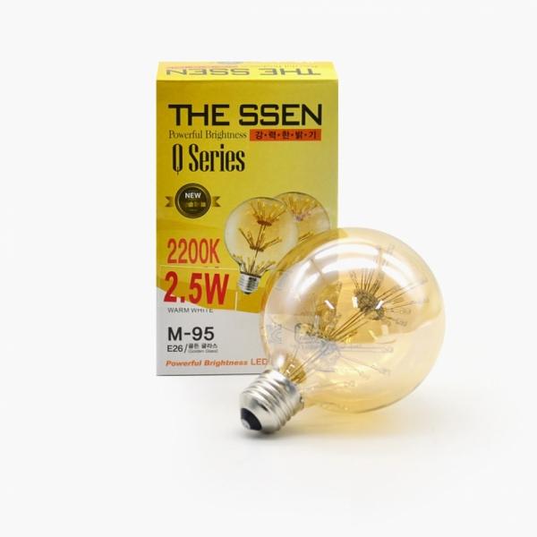 LED 에디슨 볼구형 눈꽃 전구