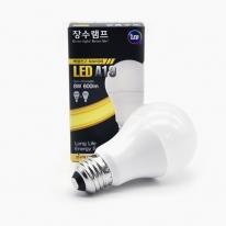 LED램프 8w 전구색 주광색