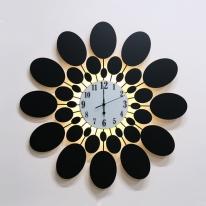 LED 오닉스 시계 벽등