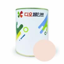[창고대방출]9,900원 연분홍 벽지벽면용 페인트 4L