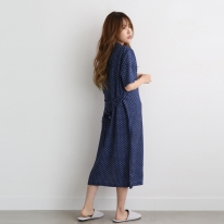 풍기인견 스칸디콜렉션 여름로브 셔츠원피스잠옷