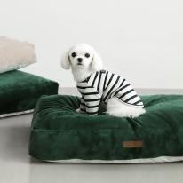 클라우드다운 밍크극세사 강아지 마약방석(방수커버)
