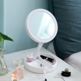 LED 접이식 거울 (10배확대경/USB전원/건전지타입/무드등)