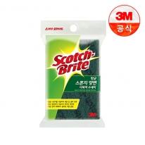 [3M]항균 스폰지 양면 다목적수세미(중) 1입(찌든때세척용)