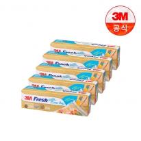[3M]후레쉬 지퍼백(대) 20매(25x30cm) 5개세트