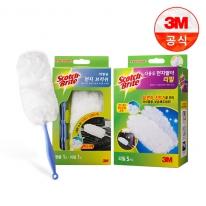 [3M]차량용 교체형 먼지떨이(핸들+리필11입)