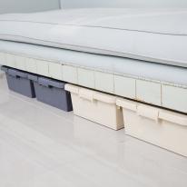 트레인 언더베드 리빙박스50L-4P