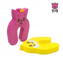 아가드 핑크퐁 도어쿠션 1입 도어스토퍼 손끼임방지