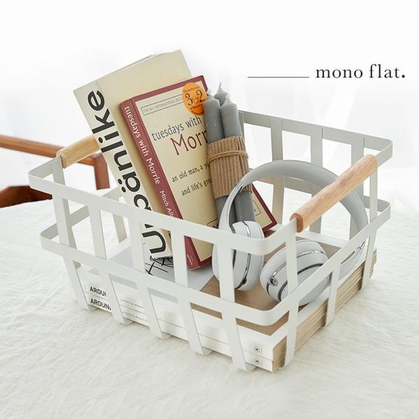 모노플랫 멀티 바스켓 1입 소품 수납 정리 바구니