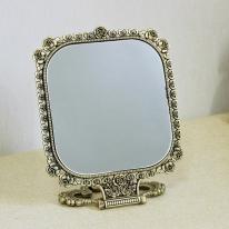(khhl115)루비사각 양면탁상거울 (신주)