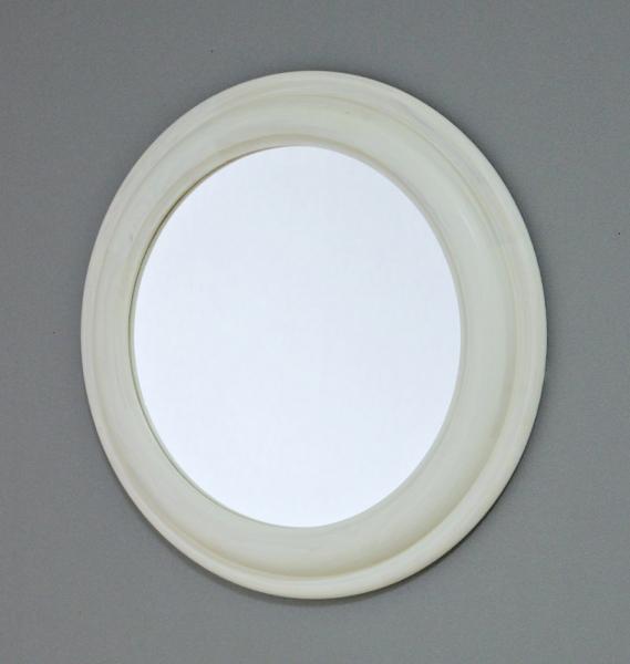 (kdrz088)엔틱우드 벽거울 (화이트)