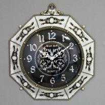 (kspz246)무소음 팔각단면시계(아이보리)